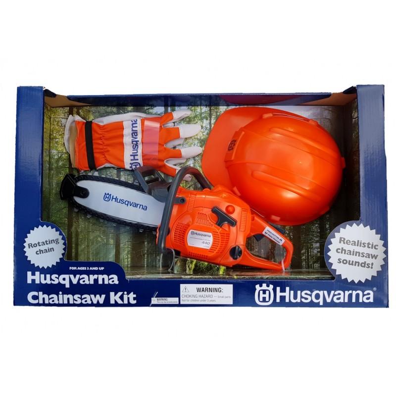 Husqvarna Toy Chainsaw Kit